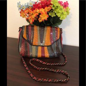 Isabella Fiore multicolor shoulder bag